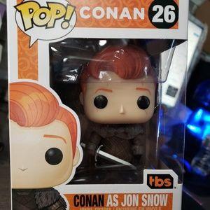 Funko Pop Conan as Jon Snow Comic Con 2019